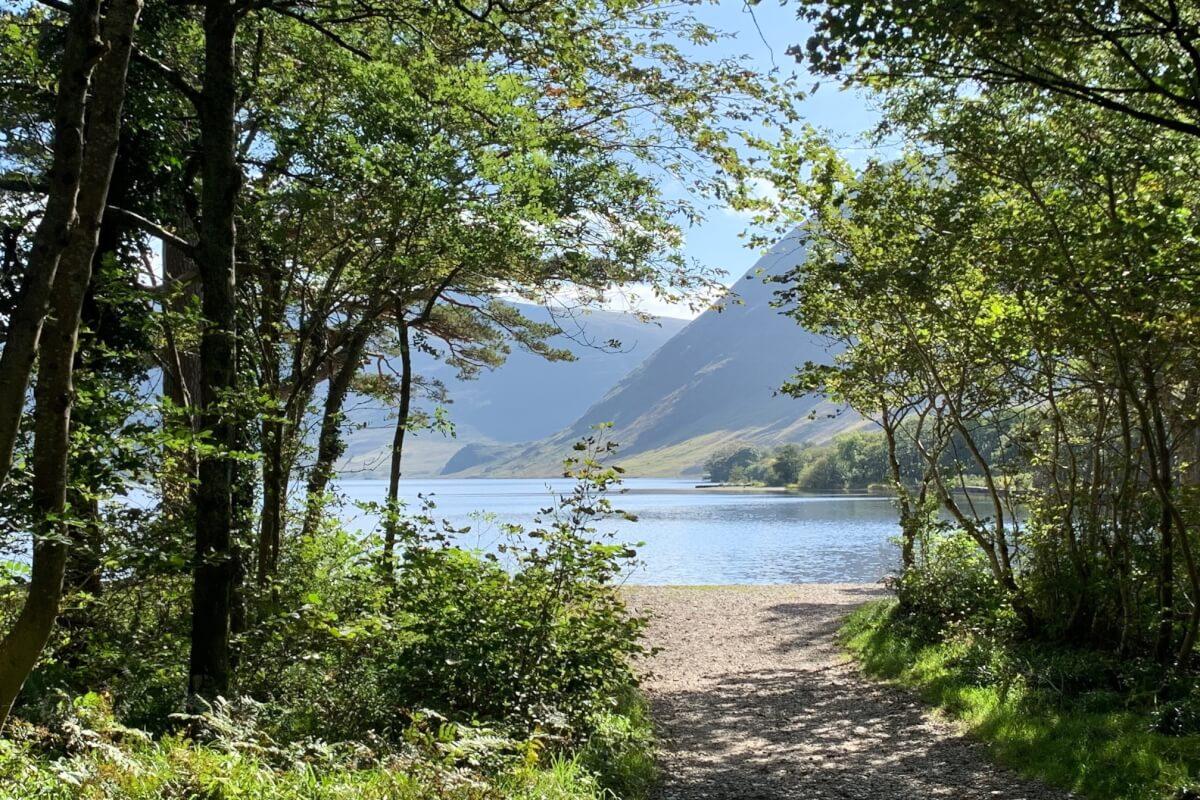 Picnic spot at Crummock Water