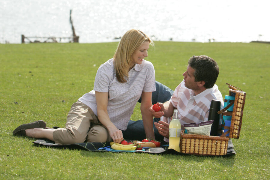 The Sun is out – time to picnic