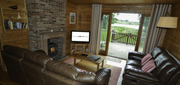 Dunnock Lodge Lounge The Tranquil Otter
