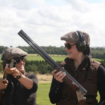 Clay Pigeon Shooting when staying at the Tranquil Otter