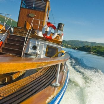 Steamer on Ullswater - The Northern Lake District