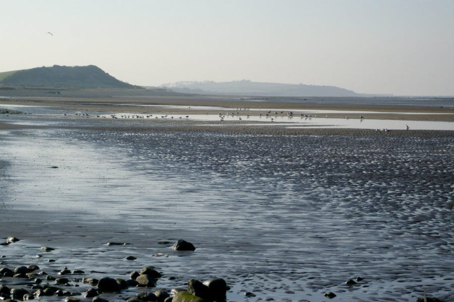 Allonby Bay on the Cumbrian Coast