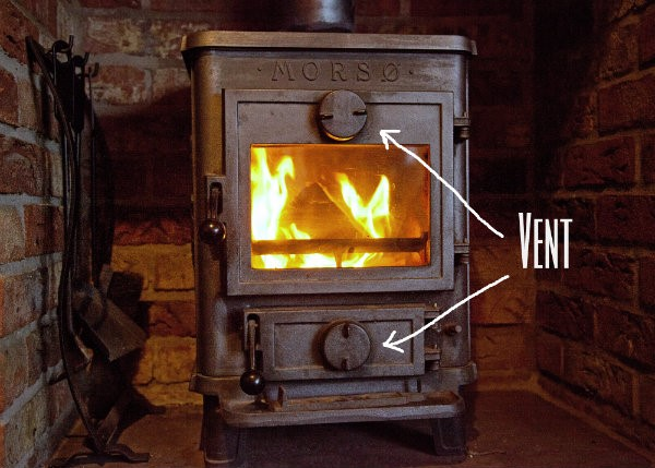 How to use the Log Burner The Tranquil Otter