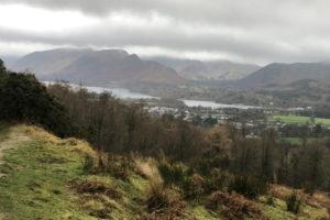 Latrigg Fell Breathtaking views