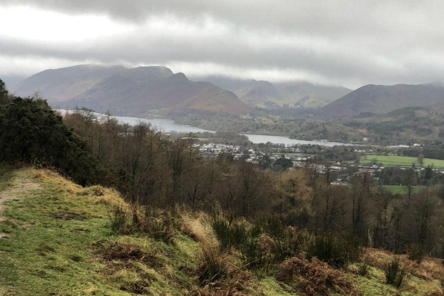 Latrigg Fell Lake District Walk The Tranquil Otter