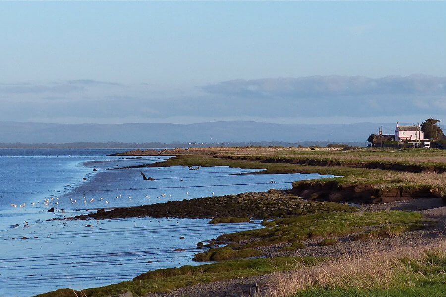 Solway Coast an area of outstanding natural beauty