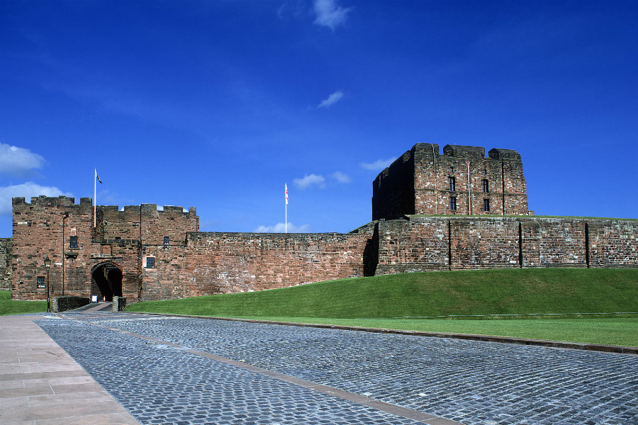 Carlisle Castle - The Tranquil Otter