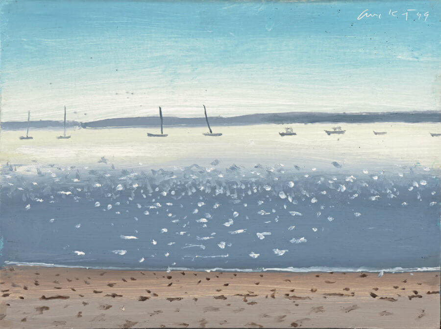 Alex Katz in Carlisle The Tranquil Otter