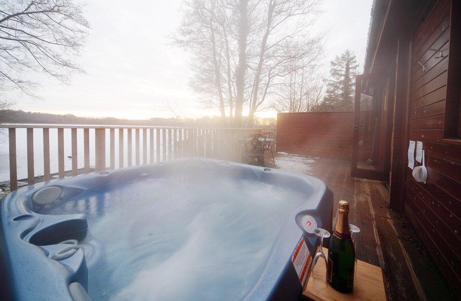 Christmas Hot tub Holiday