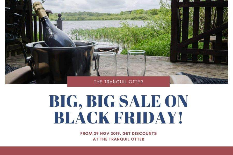 Black Friday Lodge Deals The Tranquil Otter