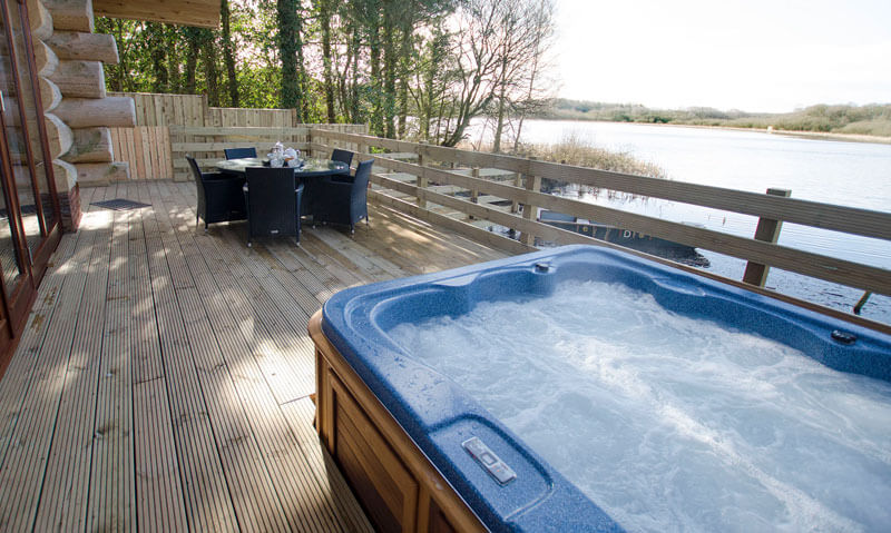 Alder Lodge Lake District Hot Tub The Tranquil Otter